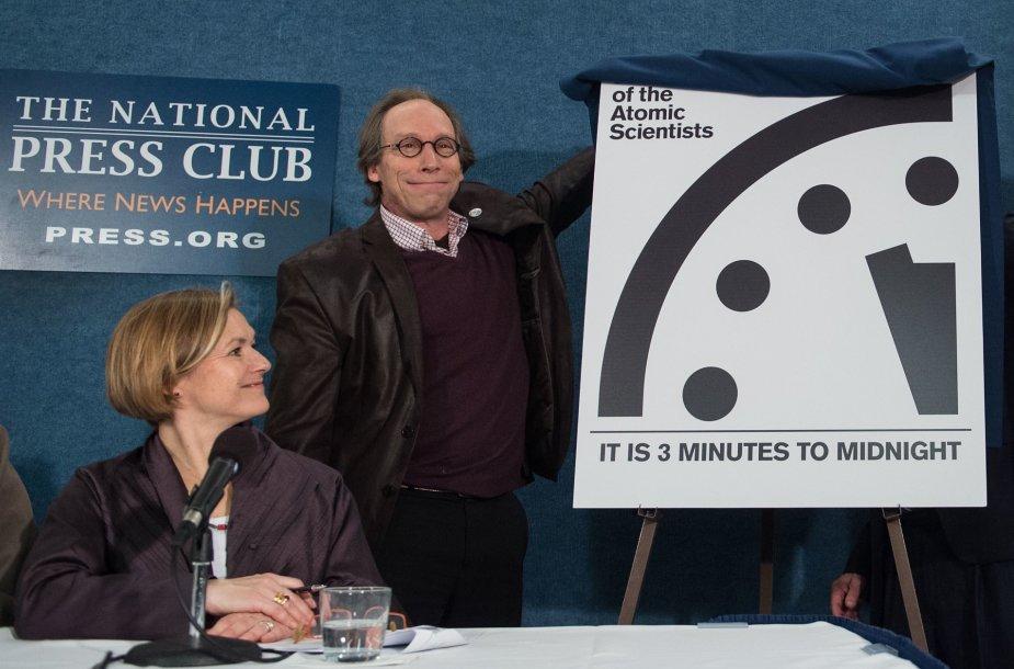 Pasaulio pabaigos laikrodžio atidengimas