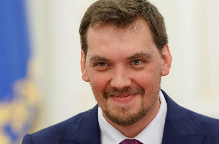 Ukrainos premjeras Oleksijus Hončarukas
