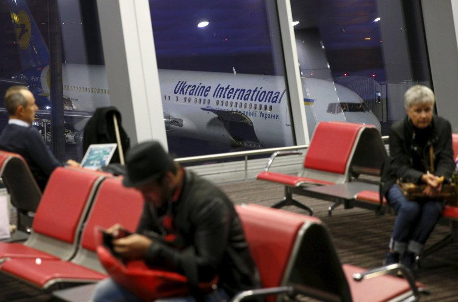 Ukraina oro linijų lėktuvas