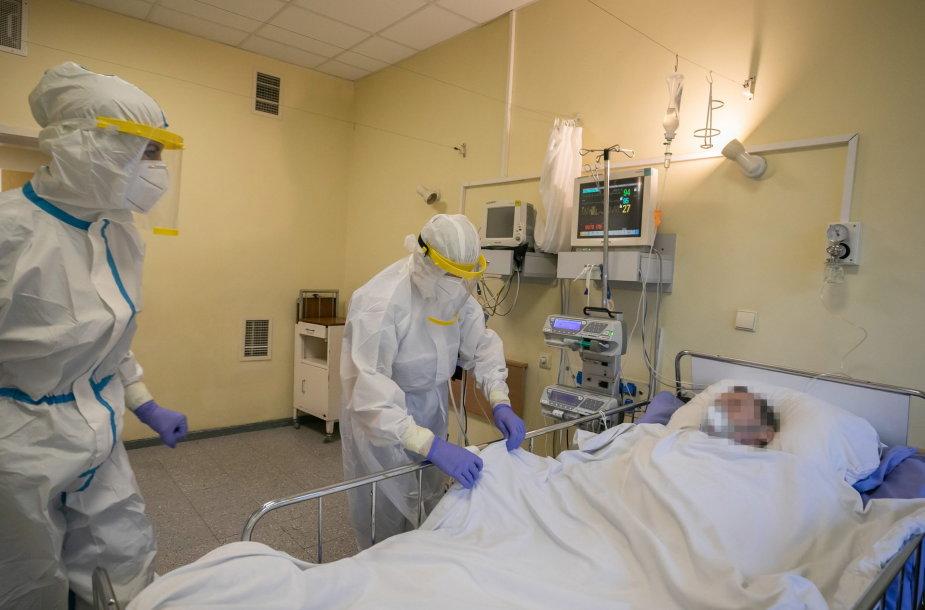 COVID-19 skyrius Vilniaus miesto klinikinėje ligoninėje