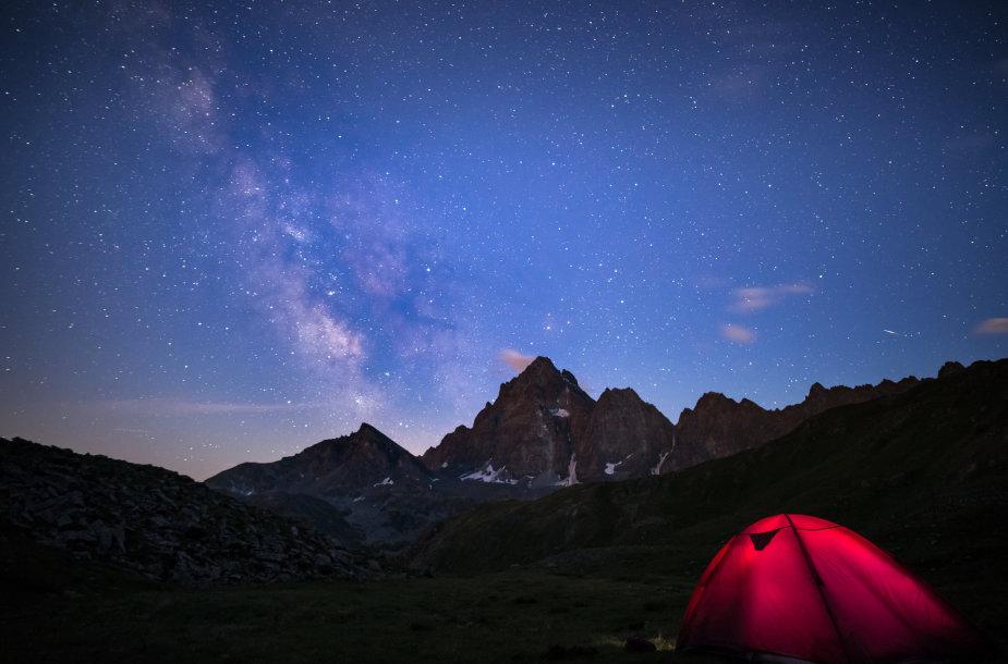 Miegojimas po atviru dangumi