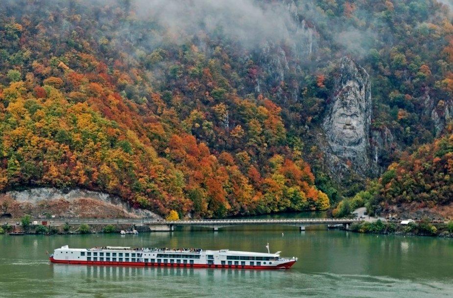 Dunojus Rumunijos-Serbijos pasienyje