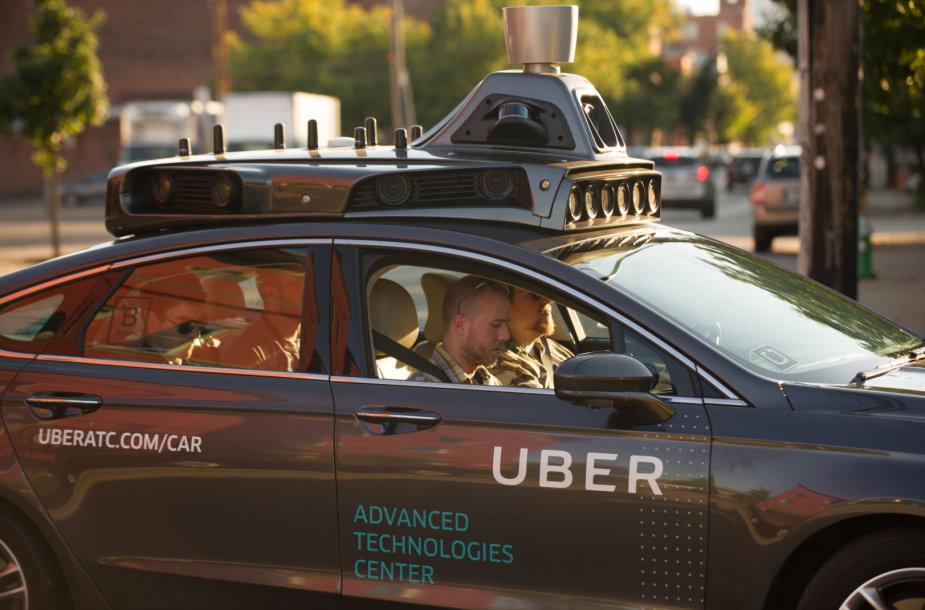 """Uber"" savavaldis automobilis"
