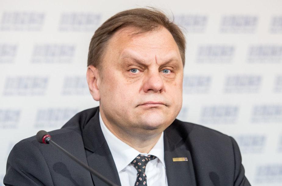 Lietuvos verslo konfederacijos prezidentas Valdas Sutkus
