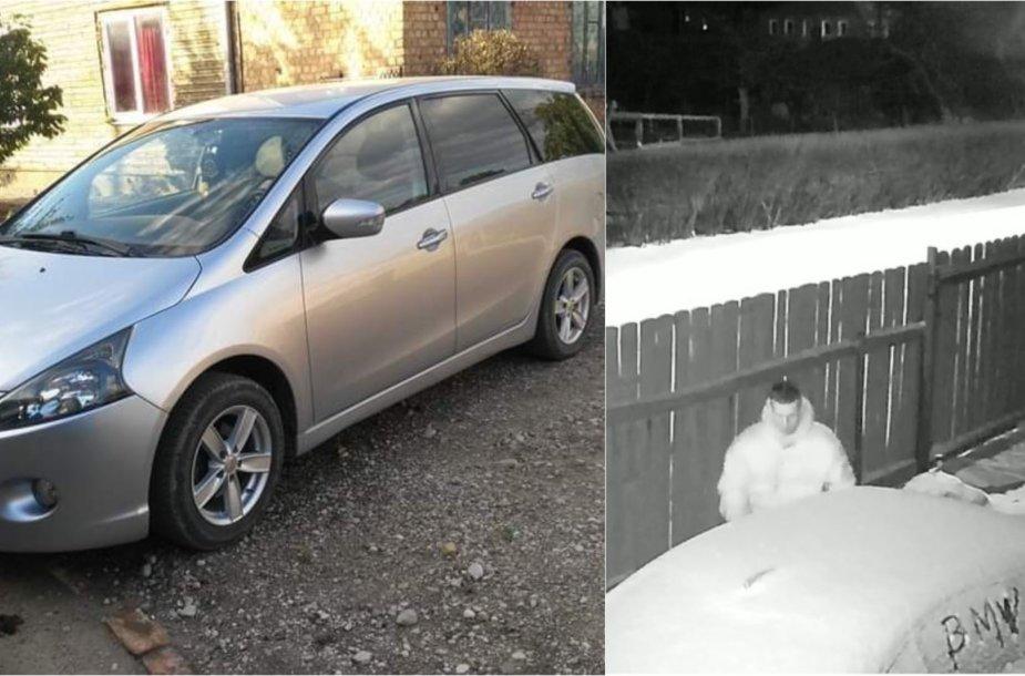 """Kėdainiuose pavogtas """"Mitsubishi"""" automobilis"""