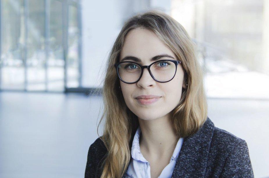 VGTU psichologė Gintė Gudzevičiūtė