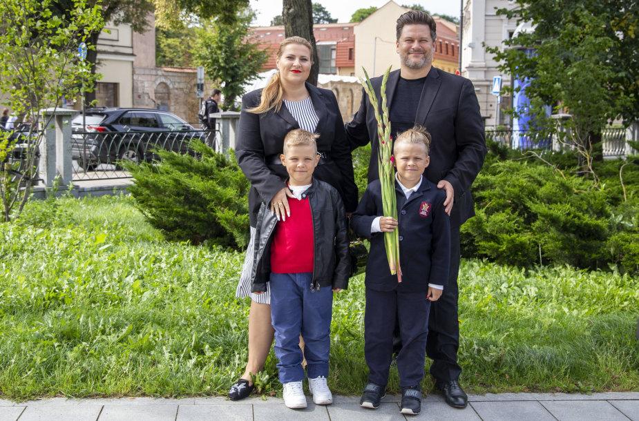 Merūno Vitulskio šeima
