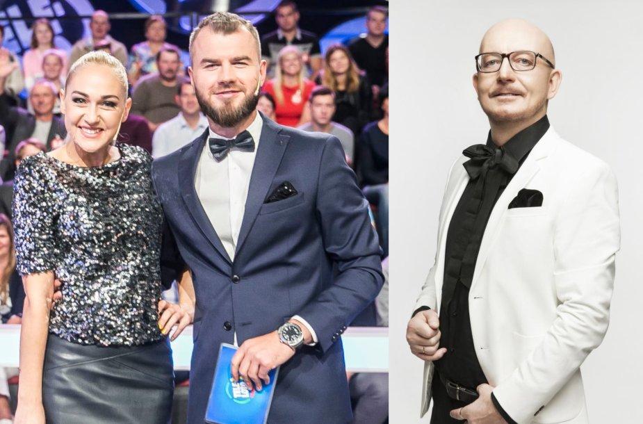 Indrė Stonkuvienė ir Gintas Vaičikauskas, Arūnas Valinskas