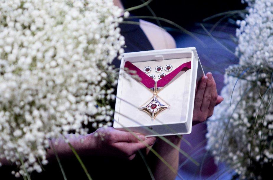 """""""Auksinių scenos kryžių"""" įteikimo ceremonija"""
