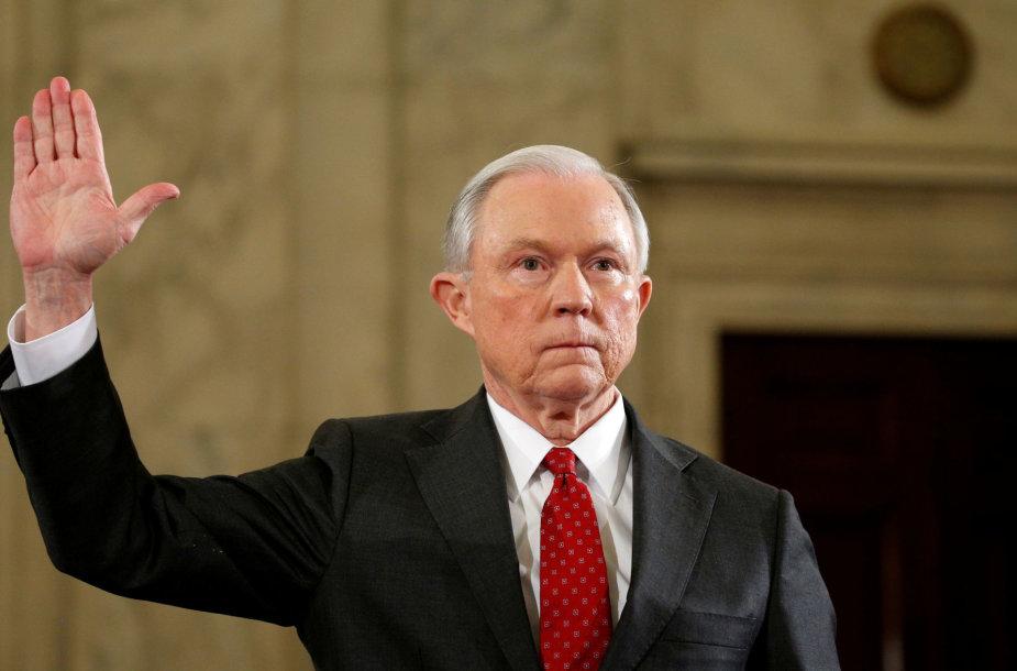 JAV generalinis prokuroras Jeffas Sessionsas