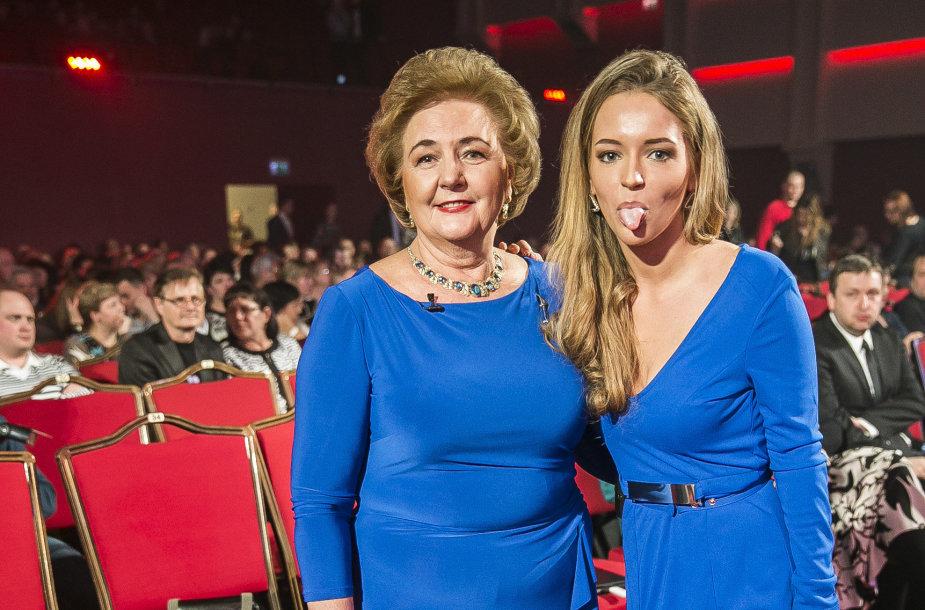 Kristina Brazauskienė ir Monika Šalčiūtė