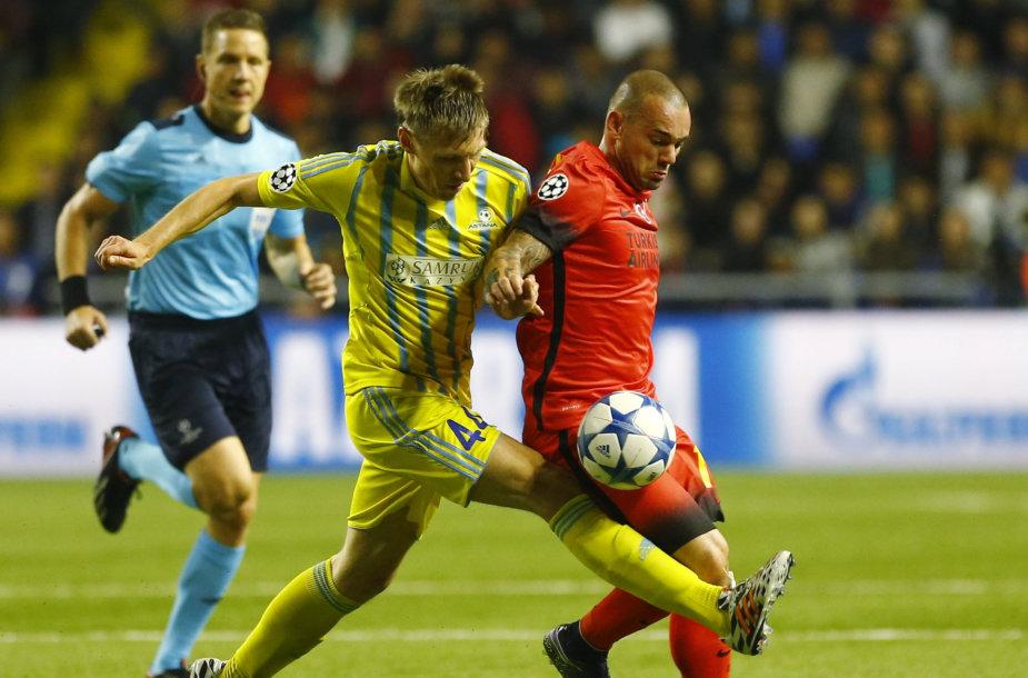 Jevgenijus Postnikovas ir Wesley Sneijderir
