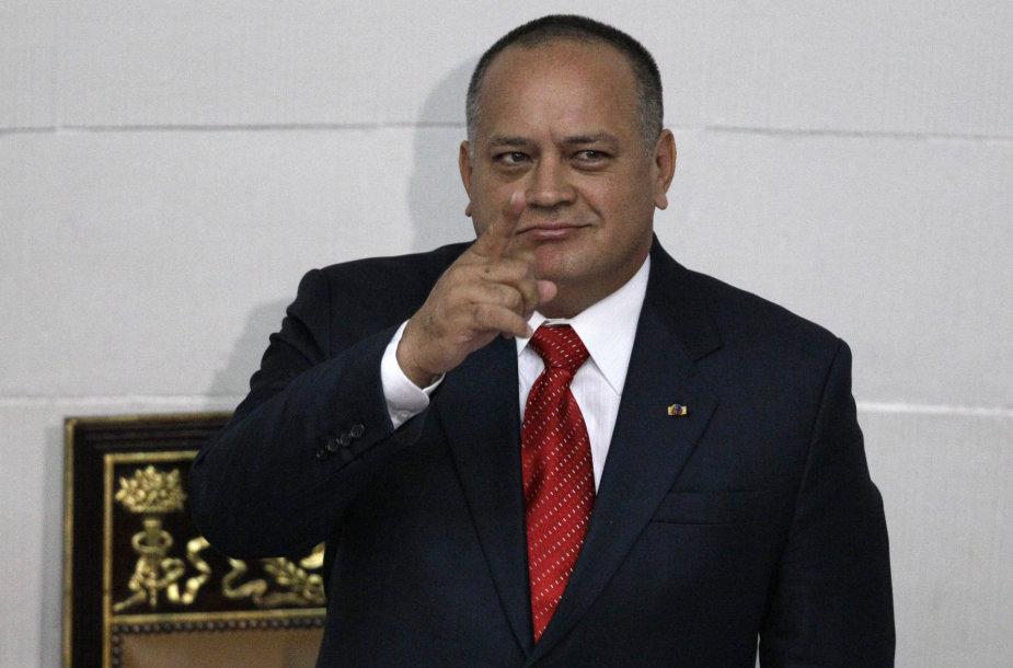 Venesuelos parlamento pirmininkas Diosdado Cabello