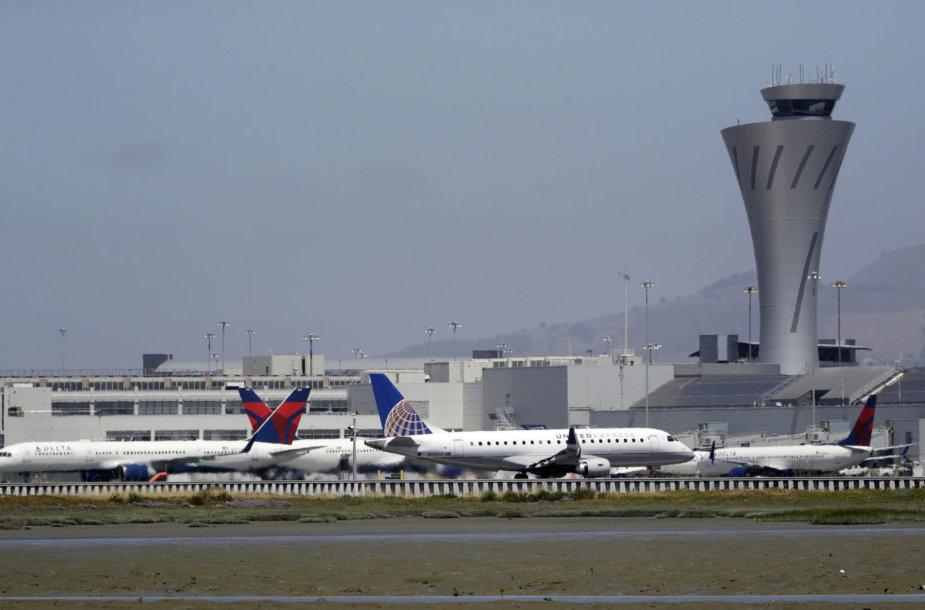 San Fransisko oro uostas