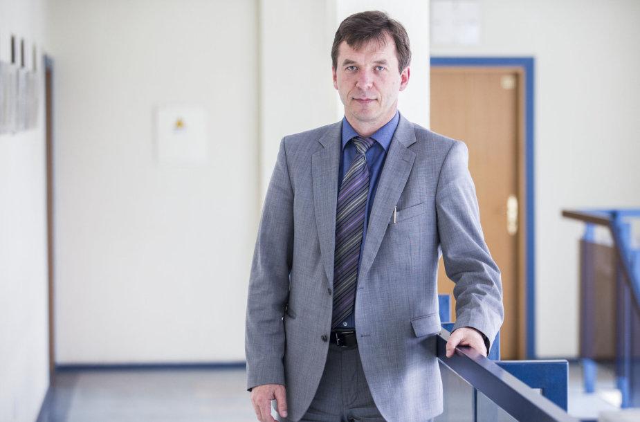 Lietuvos radijo ir televizijos centro generalinis direktorius Remigijus Šeris