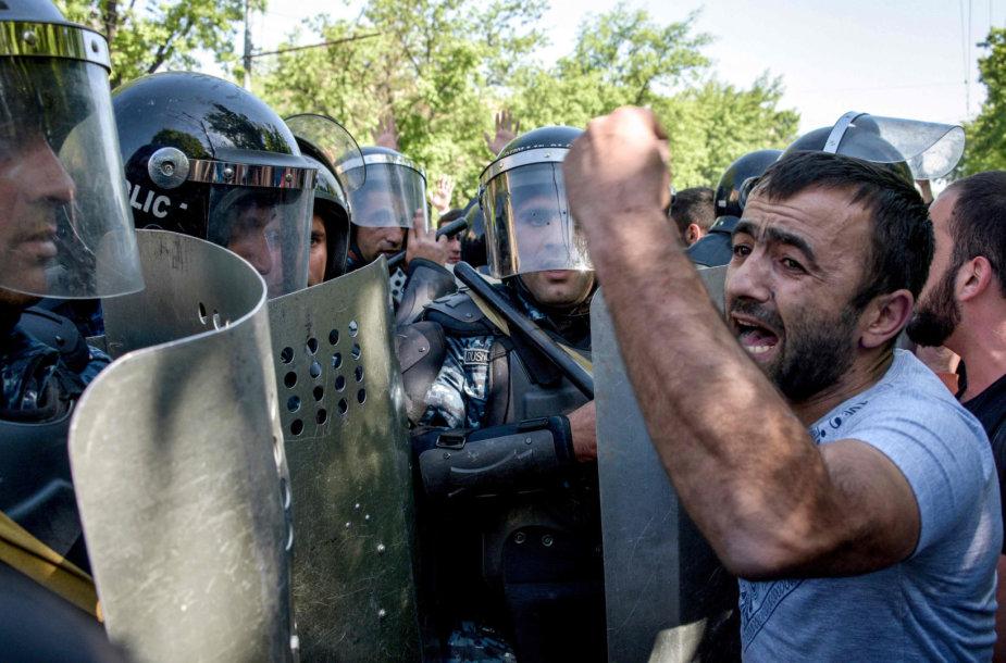 Protestas Jerevane
