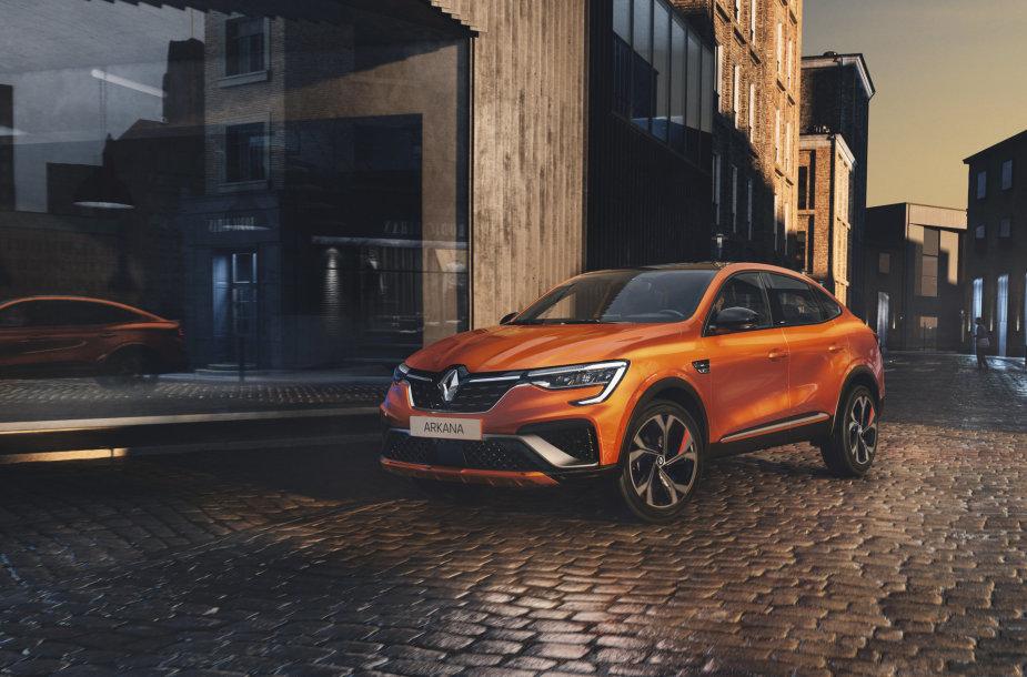 """Pristatytas naujasis """"Renault Arkana"""""""