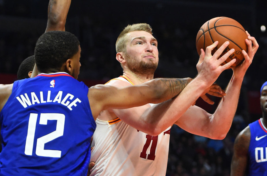 """Domantas Sabonis ir """"Indiana Pacers"""" komanda išvykoje pranoko """"Clippers""""."""