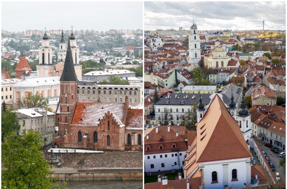 Kaunas ir Vilnius