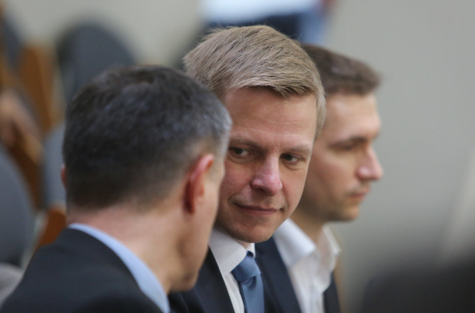 Į Vilniaus tarybos posėdį atėjo ir išrinktas meras Remigijus Šimašius