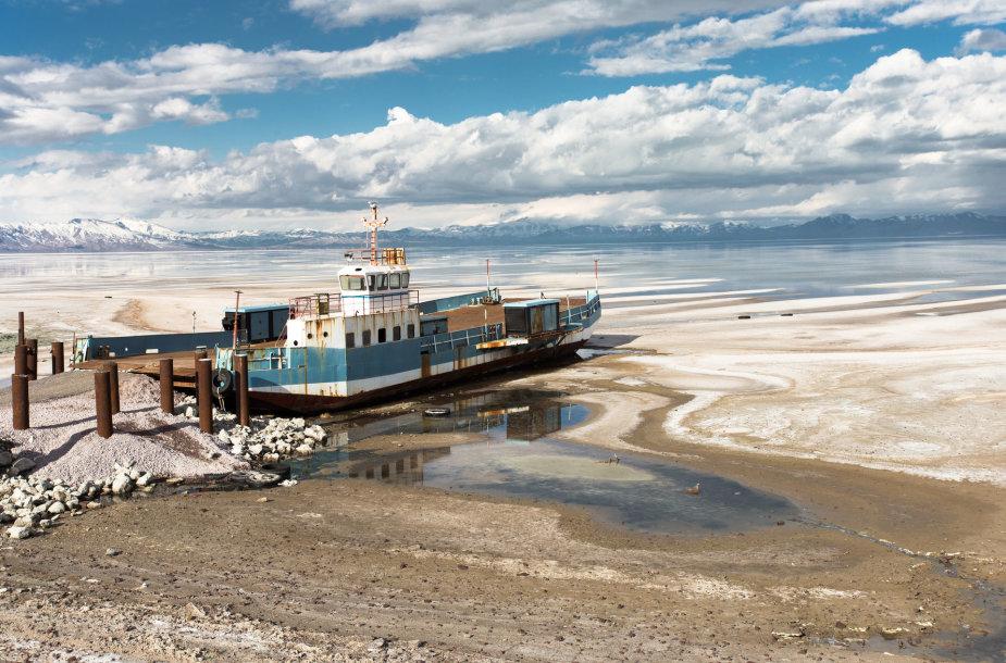 Urmijos ežeras Irane
