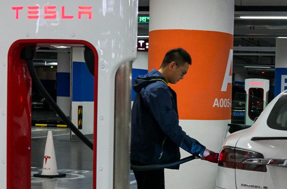 """""""Tesla"""" Kinijoje"""