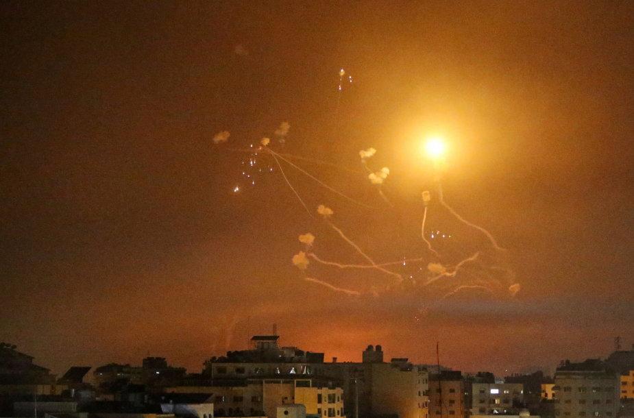 Paaštrėjęs palestiniečių ir Izraelio konfliktas