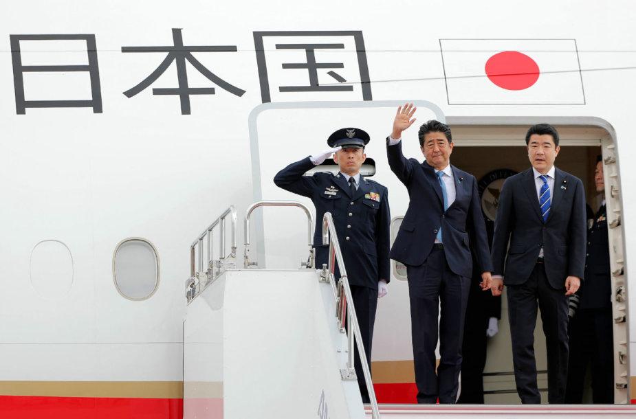 Shinzo Abe trečiadienį atvyksta į Iraną