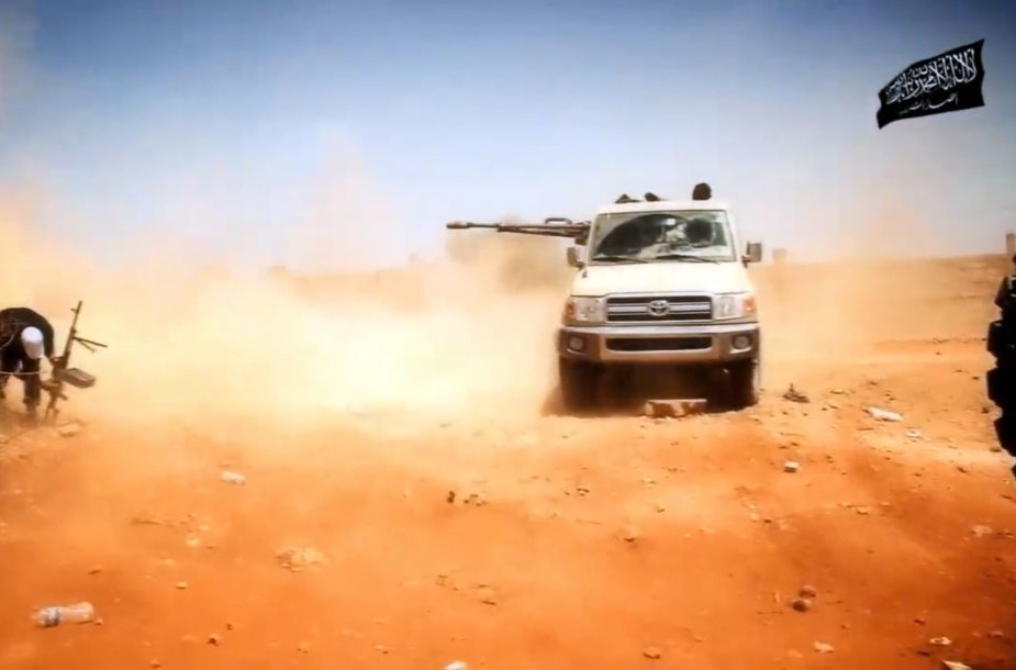 """""""Ansar al-Sharia"""" kovotojai"""