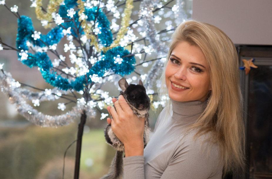 Jolanta Leonavičiūtė papuošė savo namus Kalėdoms