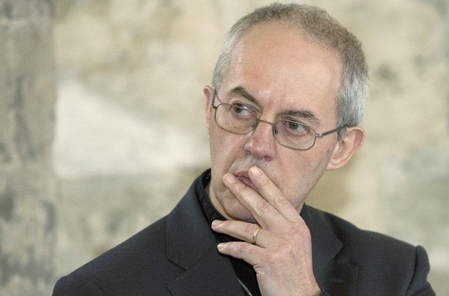 Kenterberio arkivyskupas Justinas Welby