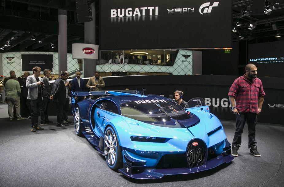 """Bugatti Vision Gran Tourismo"" Frankfurto automobilių parodoje"