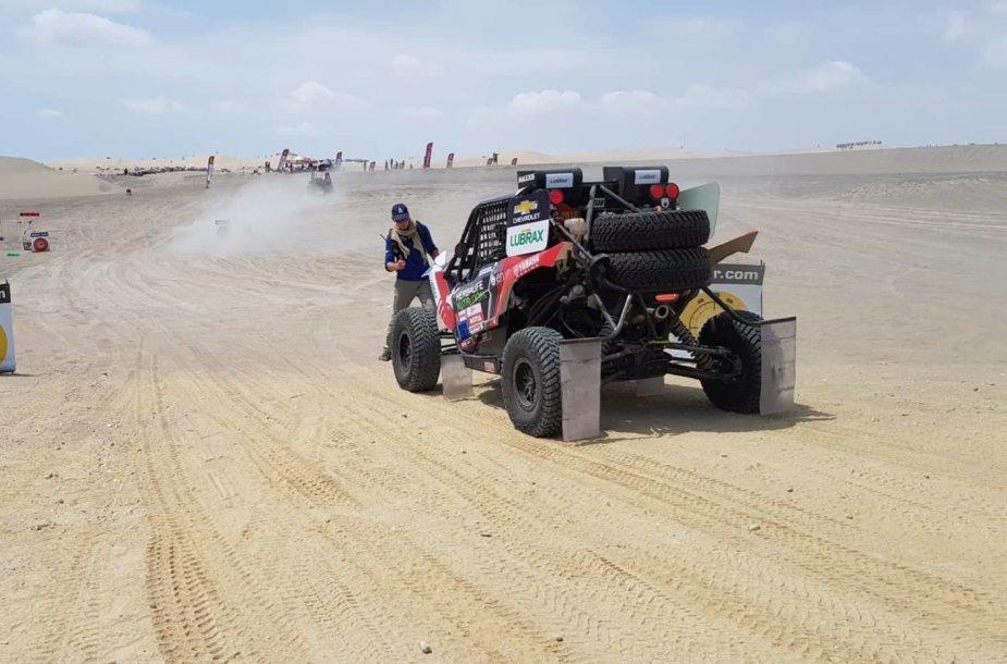 Pirmasis Dakaro greičio ruožas