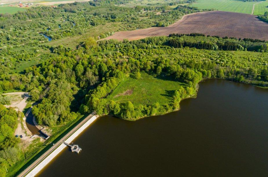 Eketės piliakalnis Klaipėdos rajone