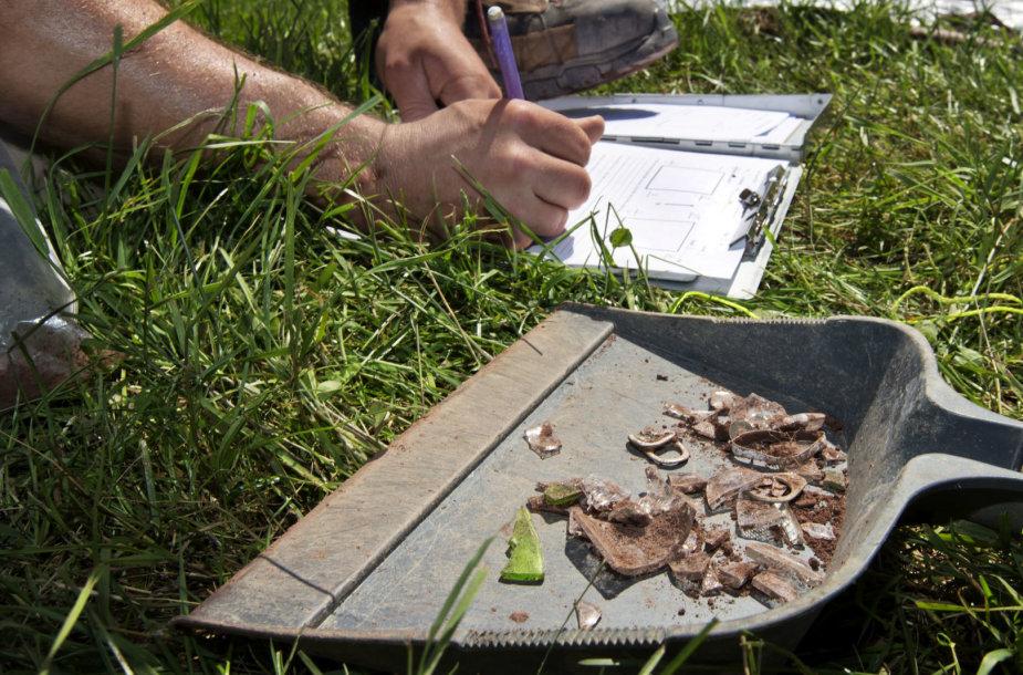 Archeologai atlieka kasinėjimus 1969-ųjų Vudstoko festivalio lauke