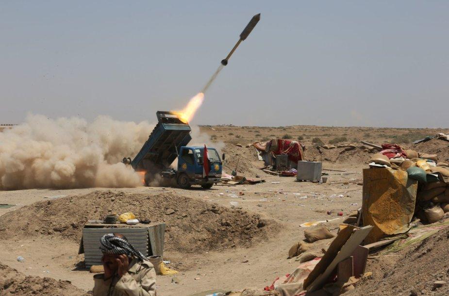 Irako kariai kaunasi su IS džihadistais Anbaro provincijoje