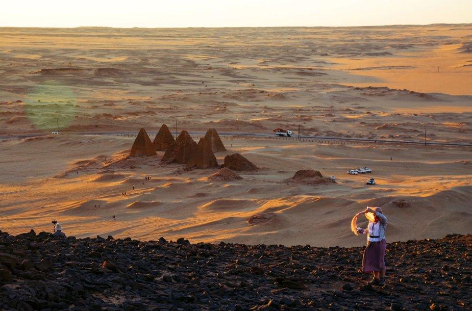 Ant Džebel Barkalio kalno, Sudanas