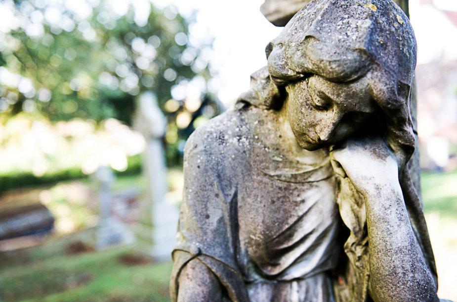 Antkapio skulptūra