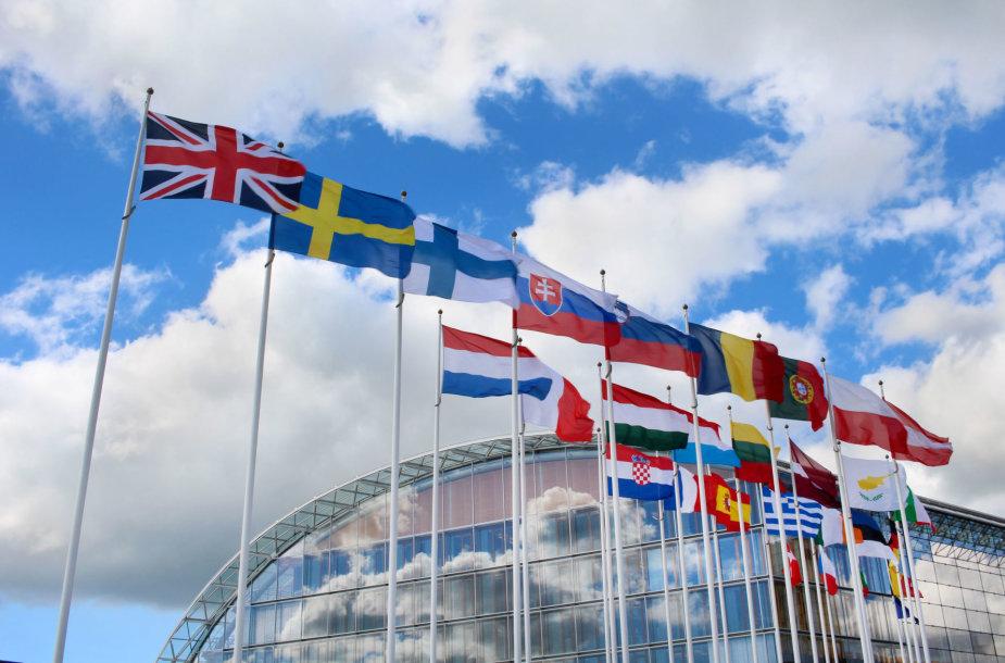 Europos valstybių vėliavos