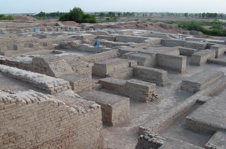 Mohendžo-daro miesto archeologiniai kasinėjimai
