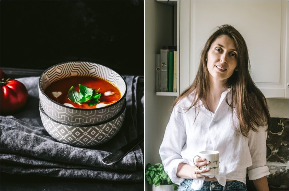 Tinklaraštininkė Jurgita ir jos ruošta sriuba