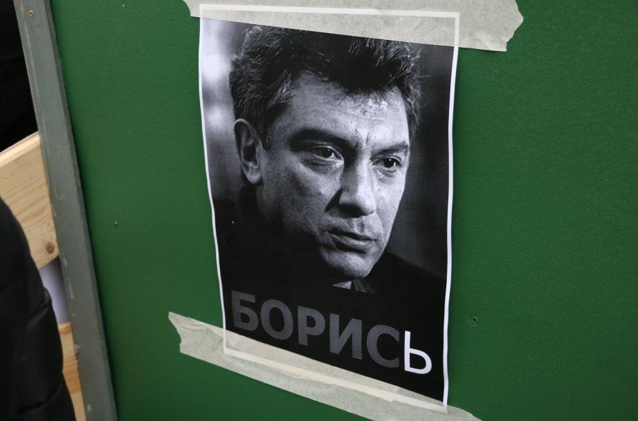 B.Nemcovo mirties metinių minėjimas Lukiškių aikštėje