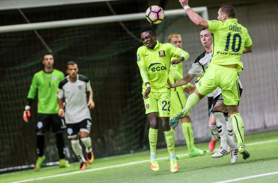 "Lietuvos futbolo A lygos rungtynės: ""Trakai"" – Kauno ""Stumbras"" 2017 m. Kovo 03 d."