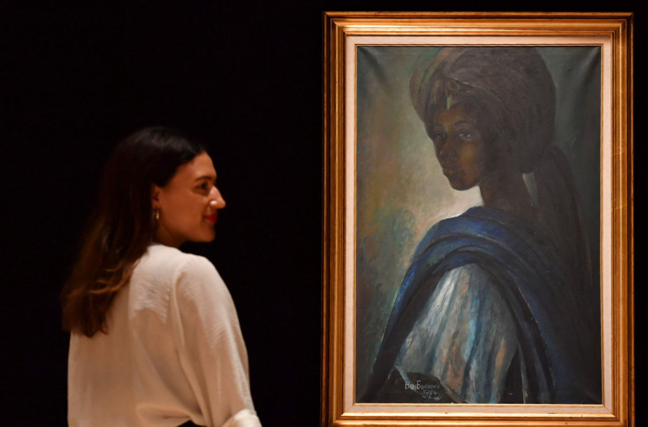 """Afrikos Mona Liza"""