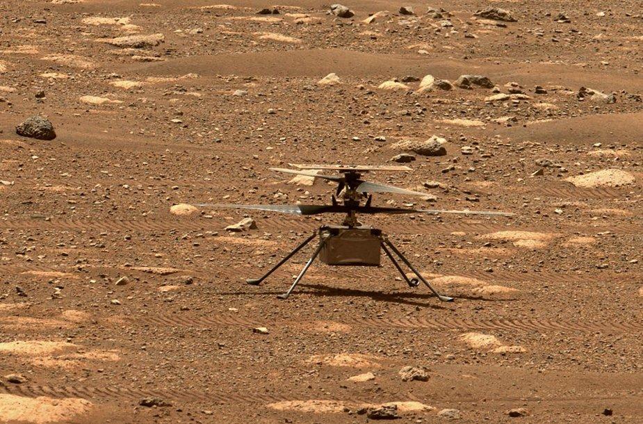 "Dronas ""Ingenuity"""