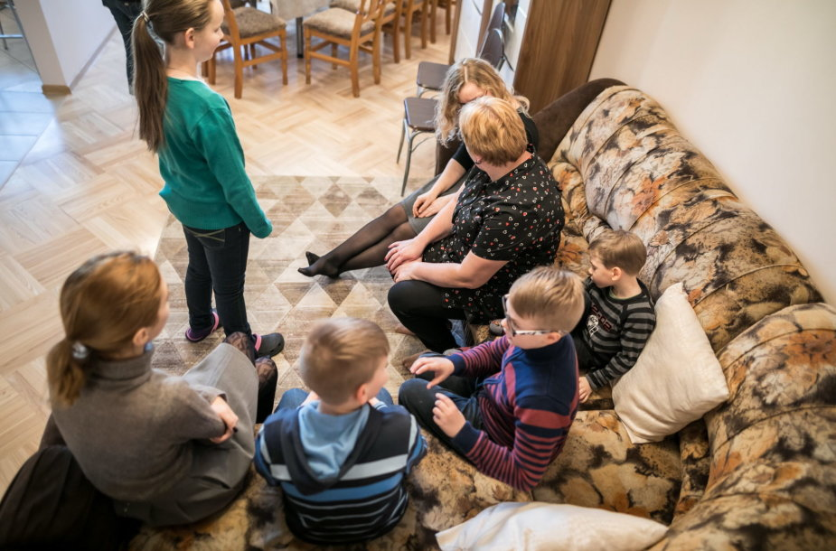 Be tėvų globos likusių vaikų šeimynoms sostinės savivaldybė perka dar 4 butus