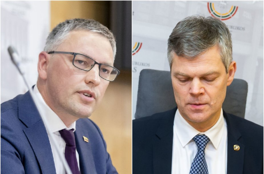 Vytautas Bakas ir Darius Jauniškis
