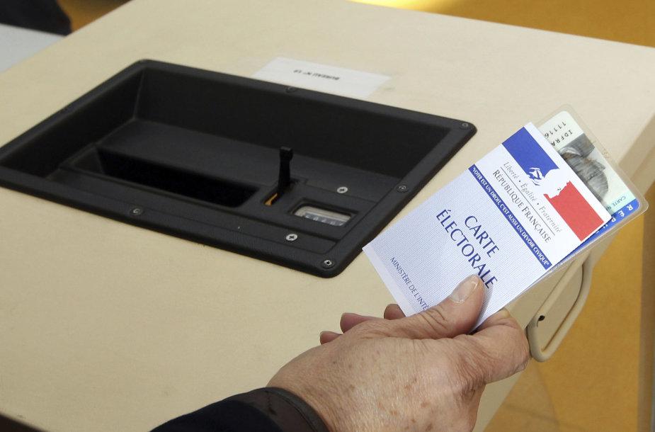 Prancūzijos prezidento rinkimų sistema gana paprasta