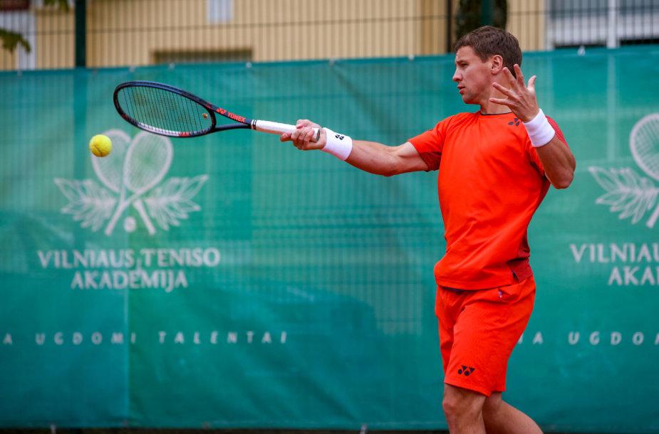 Tenisininkas Ričardas Berankis