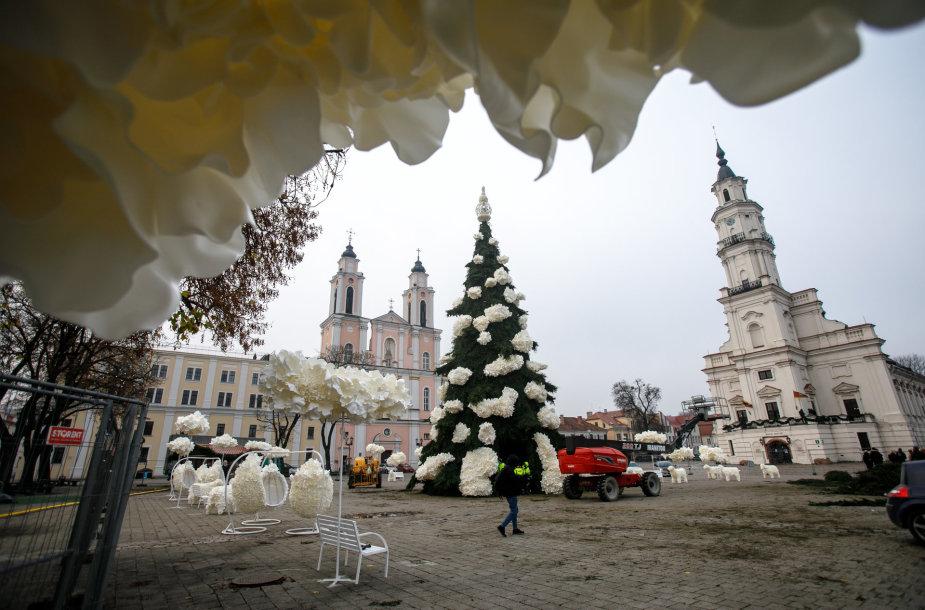 Kauno Kalėdų eglė